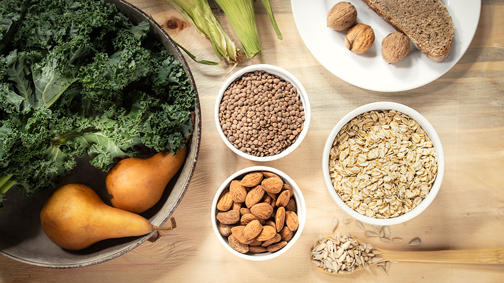 Sources of Dietary Fibre
