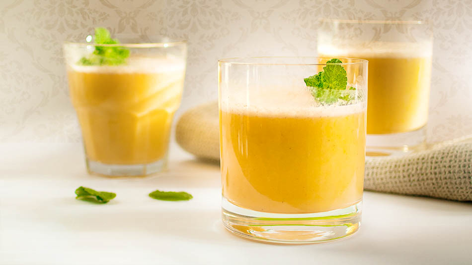 Smoothie using Collagen powder and pumpkin puree